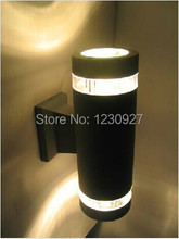 LED energy-saving outdoor waterproof aluminum wall lamps and lanterns garden light up and down balcony  wall lamp(China (Mainland))