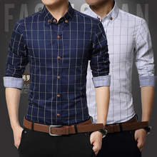 New 2015 Summer British Shirt Mens Slim Fit Man Short Sleeve Shirts Men's Clothing Slim Casual shirts  5 Size XXXL