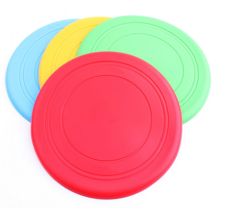 Pet Dog Products Dog toys Sandy Beach Frisbee Flying Saucer Soft Silica Gel Frisbee Soft Toy Pet Toys for Dogs B34()