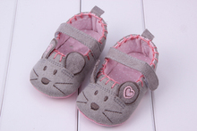 High Quality  Very Cute soft Little mouse princess baby shoes for girl and boy baby shoes 3 size to choose(China (Mainland))