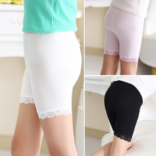 New 2016 Summer baby child trousers modal candy pants children safety pants legging Girls Leginy X005