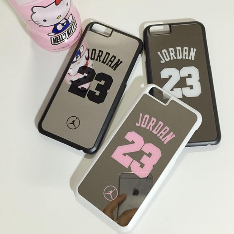 2016 Luxury Hard PC Mirror Case for iphone 5 5s 6 6s 6Plus Fashion NBA No.23 Plastic Cover Fundas Skin PC Phone Accessories F21