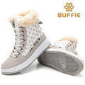 women winter shoes 2016 new fashion snow boots fur lining lady short shoes plus big size