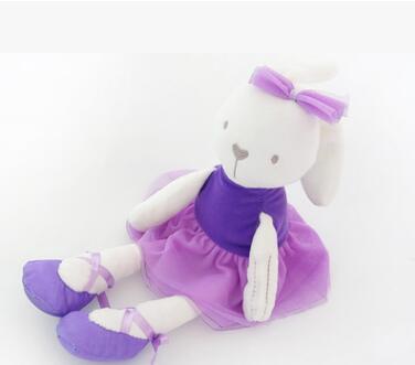 New Dolls & Stuffed Toys Cute 42cm Large Soft Stuffed Animal Bunny Rabbit Toy Baby Girl Kid toys(China (Mainland))