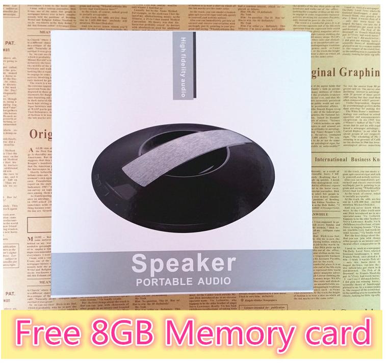 NEW Sardine SDY-021 Big power Portable Wireless Bluetooth mini Speaker Stereo audio sound with mic Broadcast Caller+8G Card(China (Mainland))