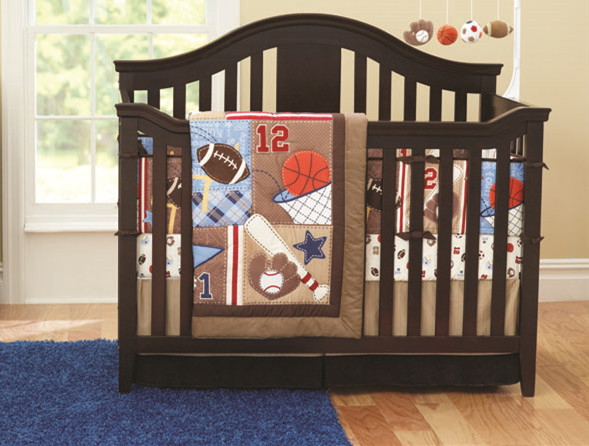 Discount! 7pcs Embroidery Baby Bedding Set Crib Bumpers Newborn Baby Products  ,include(bumpers+duvet+bed cover+bed skirt)<br><br>Aliexpress