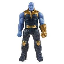 30 см Marvel Мстители игрушки танос Халк Бастер Человек-паук Железный человек Капитан Америка Тор Росомаха Черная пантера фигурки кукол(China)