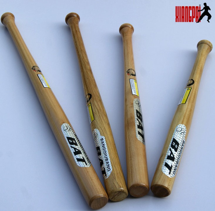 XiangPai 74cm long beech wood baseball softball bat Unleashing outdoor sports training self defense(China (Mainland))