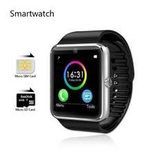 Smartwatch GT08 android-автомобильный камеры bluetooth-смарт часы SIM карты Montre Connecte фитнес Reloj Inteligente Orologio Telefono Lf07