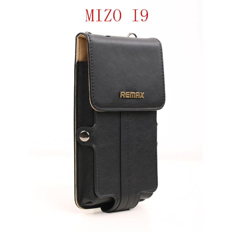 Universal Original Remax Leather Case for MIZO I9 mobile phone MTK6592 Octa Core 5.0 inch celular Smartphone, Free Shipping(China (Mainland))