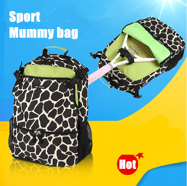 High quality multifunction polka dot mummy messenger /ultra-large capacity fashion&amp;casual wet baby backpack nappy diaper bag 1pc<br><br>Aliexpress