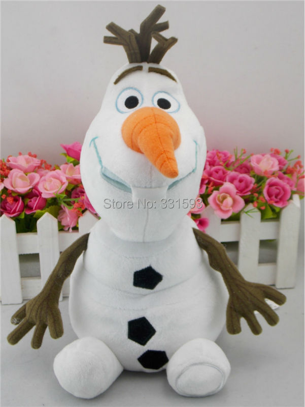 "Cartoon Olaf The Snowman Plush Toy Soft Stuffed Anime Plush Dolls 12"" 30CM Free Shipping(China (Mainland))"