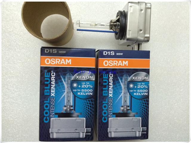 Free Shipping!!!100% Genuine Hid Xenon Bulb OEM Osram D1S 66144CBI 12V 35W 5500K Lamp Light Lighting Car Headlight For Bmw/Audi(China (Mainland))