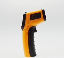 Envío gratis Portable sin contacto LCD IR termómetro temperatura GM320 termómetro pistola láser infrarrojo Digital termometro
