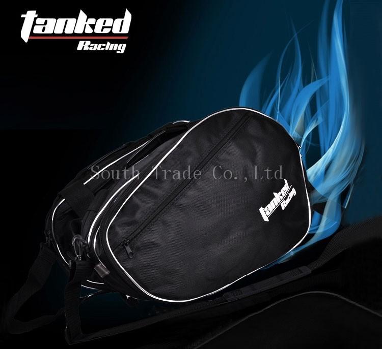 Мотоциклетная кожаная сумка для сидений STank Rinonera Motos