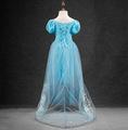 2016 style girl cinderella dress for kids princess cinderella dress robe cosplay costume vestido children s