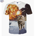 Mr 1991 Super powers cat printed 3D t shirt for boys fashion girls t shirt summer
