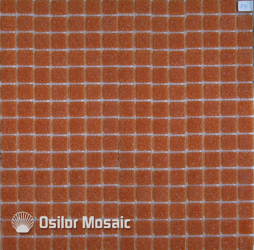 Free Shipping Red Glass Mosaic Tile Outdoor Wall Tile Floor Tile