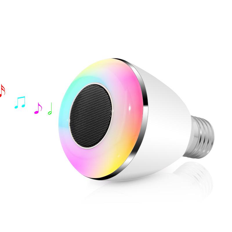 BL-08A Smart Bluetooth Music Speaker Holiday LED Ball Bulb Audio Light Lamp E27 2 1 Portable Wireless Colorful RGB - shenzhen mari kinco.,ltd store
