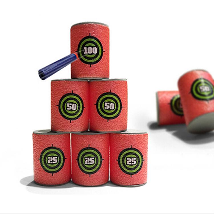 Гаджет  HOT selling 6PCS EVA Soft Target for Nerf N-strike Elite Series Blasters kids Toy Gun None Игрушки и Хобби
