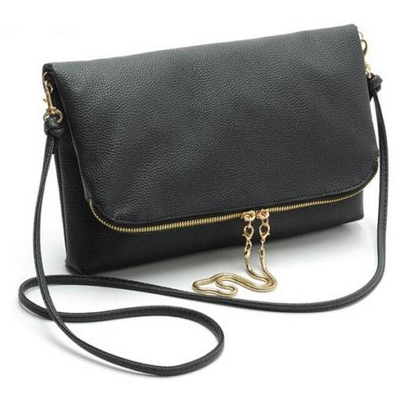 Fashion high quality women leather handabags casual cross body women shoulder bags clutch bag for women messenger bags bolsas(China (Mainland))