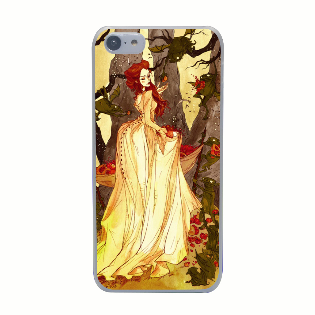 3385G The Goblin Market Print Hard Transparent Case Cover for iPhone 4 4s 5 5s 5c SE 6 6s Plus(China (Mainland))