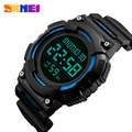 SKMEI New 2017 Fashion Digital Watch Men Countdown Sports Watches Mens Double Time Chronograph Military LED