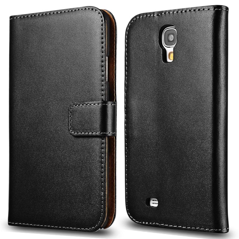 For Galaxy S4 Flip Cover Classic Leather Case for Samsung Galaxy S4 i9500 Phone Bag Cover With