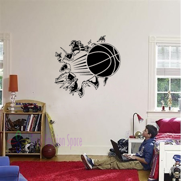 Wall vinyl decal sticker kids room decor sport boy art bedroom jpg