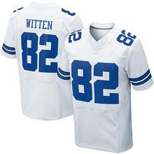 Men's #82 Jason Witten Elite White Jersey 100% stitched(China (Mainland))