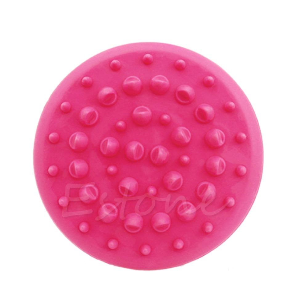 U119 Free Shipping New Handheld Bath Shower Anti Cellulite Full Body Massage Brush Slimming Beauty