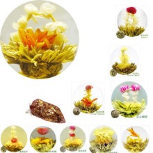 10 Kinds Good Quality Blooming Flower Tea,Chinese Handmade Flowering Tea ,Organic Jasmine Flower Green Tea Ball For Weight Loss