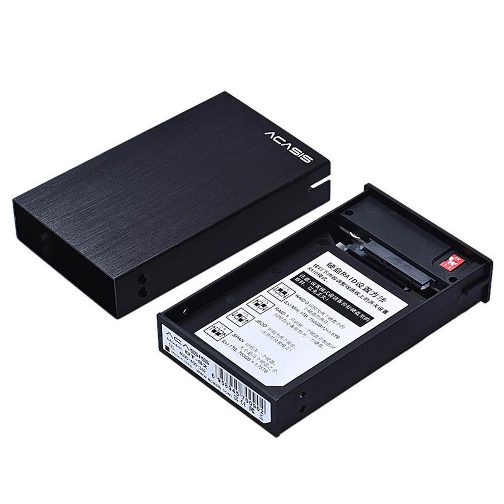 Puscard USB 3.0 MSATA HDD 2.5Inch Dual External Hard Drive Aluminum Case+Tool(China (Mainland))