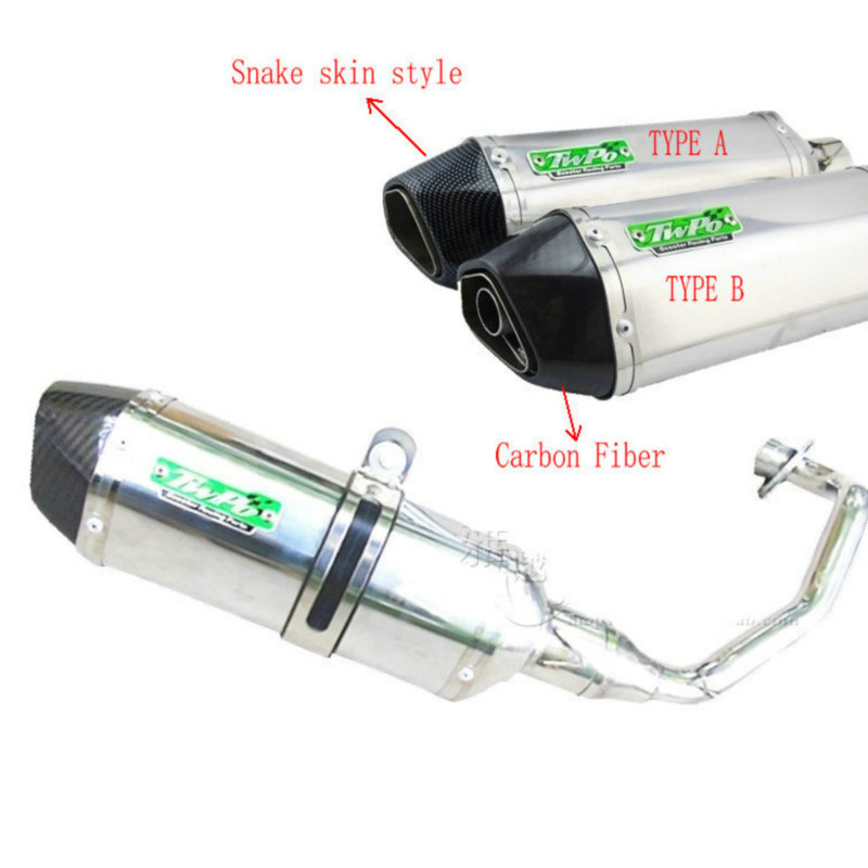 ESCAPE GY6 MOTORCYCLE EXHAUST PIPE GY6 125 exhaust moped SILENCER MUFFLER GY6 SCOOTER EXHAUST For Y-amaha(China (Mainland))