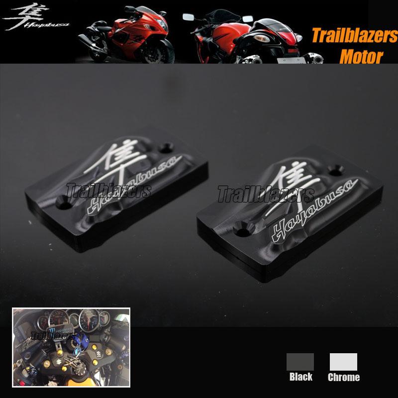For SUZUKI HAYABUSA 1999-2014 Motorcycle Accessories New Design 3D LOGO Brake Clutch Cover Cylinder Reservoir Cap Black(China (Mainland))