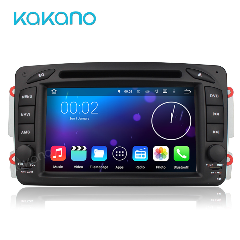 In Stock ANDROID 5.1 CAR DVD PLAYER For Mercedes Benz W209 W203 W168 M ML W163 W463 Viano W639 Vito Vaneo WiFi GPS BT Radio(China (Mainland))