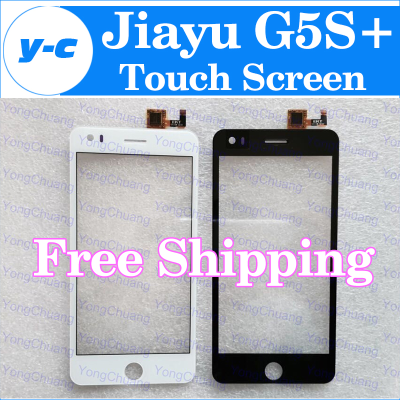 Jiayu G5S+ Touch Screen Original Touch Panel Glass Assembly Replacemen For jiayu G5S+ 5.0 inch smartphone Free Shipping-In Stock(China (Mainland))