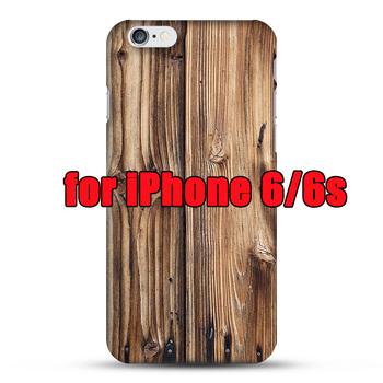 Etui plecki do iPhone iPhone 4s / 5s / 6s / Plus wzór drewna