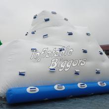 Hot selling inflatable iceberg climber, inflatable floating ice tower, inflatable ice tower game(China (Mainland))