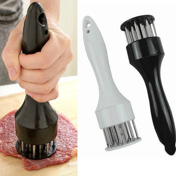 Scolour 1PCS Profession Meat Tenderizer Needle With Stainless Steel Kitchen Tools Freeshipping