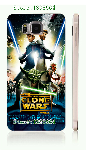 star wars hot white hard cases for samsung galaxy alpha g850 free shipping