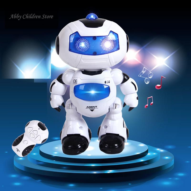 Musical RC Robot Remote Control Electronic Toy Robot Pet Walk Dance Lighten Musical Electric ToyS For Children Kids Boy Gift(China (Mainland))