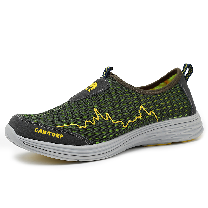 New Arrival Authentic Camel Men Walking Shoes Male Outdoor Sports shoes Summer Sneakers Lover Walking Net Shoes Mesh Shoes 0175(China (Mainland))