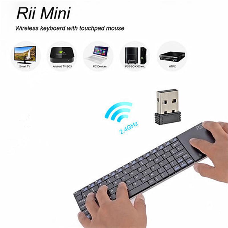 zw 51012 rii mini i12 2 4 ghz clavier sans fil avec pav. Black Bedroom Furniture Sets. Home Design Ideas