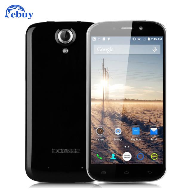 Original Doogee NOVA Y100X Smartphone MTK6582 Android 5.0 5 inch HD 1280x720 IPS Mobile Cell Phone 1GB RAM 8GB ROM 8MP(China (Mainland))