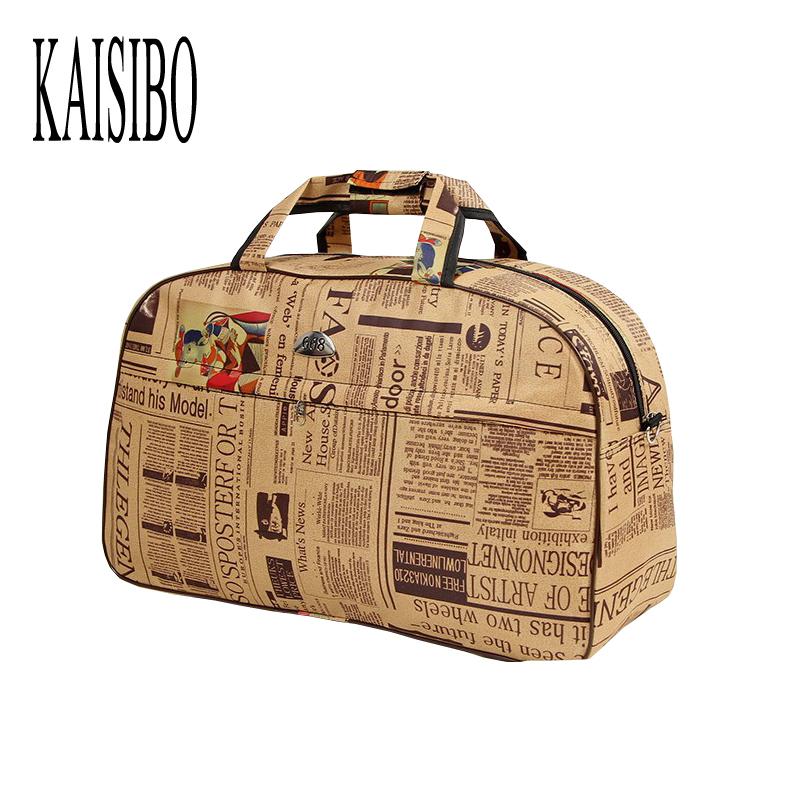 2016 New Women Waterproof Travel Bags Large Capacity Oxford Luggage Bag Fitness Travel Duffle Bag Ladies bolsa viagem(China (Mainland))