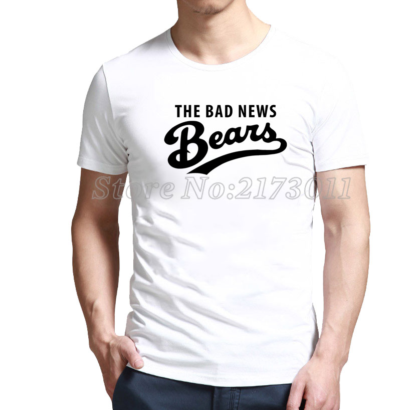 2016 Rushed Special Offer Fashion Short Polyester Spandex Print No Broadcloth Low Priced The Bad News Bears T-shirt Online(China (Mainland))