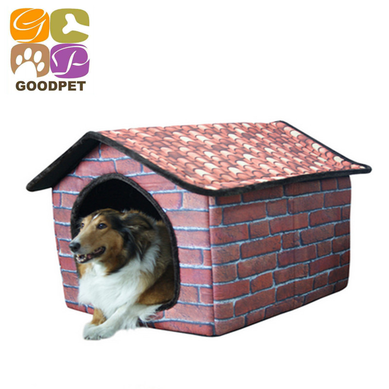 2015 New Fashion Print Mat Dog House Luxury Dog Beds For Large Dogs Pet Products House Pet Beds for Small Medium Dog GP151027-2(China (Mainland))