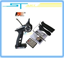 Flysky FS-GT2B FS GT2B 2.4G 3CH Gun RC Transmitter & Receiver W/ TX battery + USB Cable Charger Up GT2 low shipping who boy gift