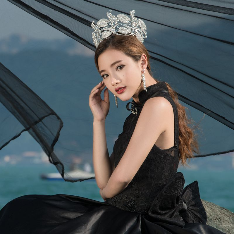 July show new products. Studio retro big European royal crown golden crown round full circle Headwear(China (Mainland))